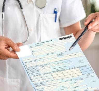 Больничный лист в частной клинике Электроугли